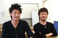 F.Rさん(右) Y.Rさん(左)