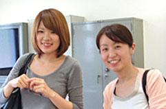 K.Mさん(右) H.Mさん(左)